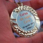 Medalie Maraton Cursa de Copii Cora
